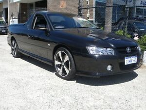 2007 Holden Commodore VZ SVZ Black 5 Speed Automatic Utility Wangara Wanneroo Area Preview