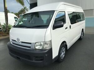 2007 Toyota HiAce TRH223R Commuter High Roof Super LWB French Vanilla 4 Speed Automatic Bus