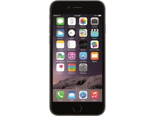 Apple iPhone 6 Space Gray 128GB 4G LTE Unlocked GSM Cell Phone