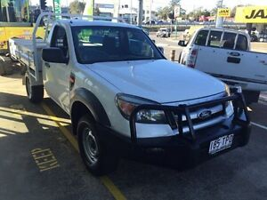 2010 Ford Ranger PK XL (4x2) White 5 Speed Manual Cab Chassis Loganholme Logan Area Preview