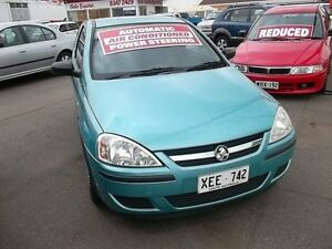 2004 Holden Barina XC (MY04.5) Green Mint 4 Speed Automatic Hatchback Kilkenny Charles Sturt Area Preview
