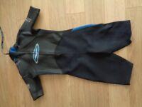 Gul Free Flex Titanuium Viper shorty wetsuit boat jetski watersports size M/L