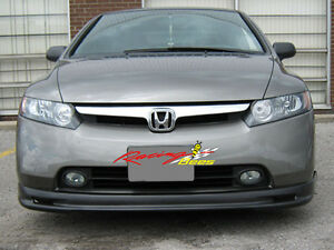 2001-2003 Civic 2/4D Mugen Front Lip ABS material