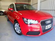 2012 Audi A1 8X MY13 Attraction S tronic Red 7 Speed Sports Automatic Dual Clutch Hatchback Ingle Farm Salisbury Area Preview