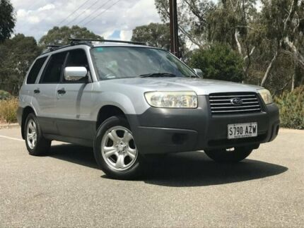 2005 Subaru Forester Silver Manual Wagon Hahndorf Mount Barker Area Preview
