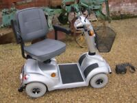 Heavy Duty 21 Stone Capacity Vigor Plus Mobility Scooter With Charger-Was £2800 Now Only £440