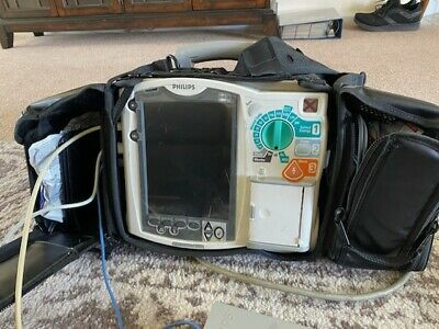 Phillips Mrx Cardiac Monitor 12 Lead Aed Pacer Sp02 Nibp Co2