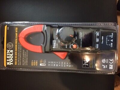 New Klein Tools Cl380 400a Amp Acdc Auto Ranging Digital Clamp Meter