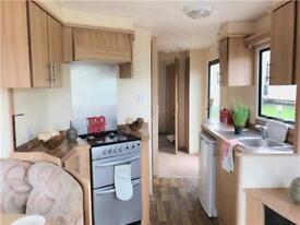 Stunning 6 berth starter static caravan on the Ayrshire coast