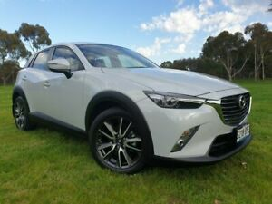 2017 Mazda CX-3 DK2W7A sTouring SKYACTIV-Drive Ceramic 6 Speed Sports Automatic Wagon Medindie Walkerville Area Preview