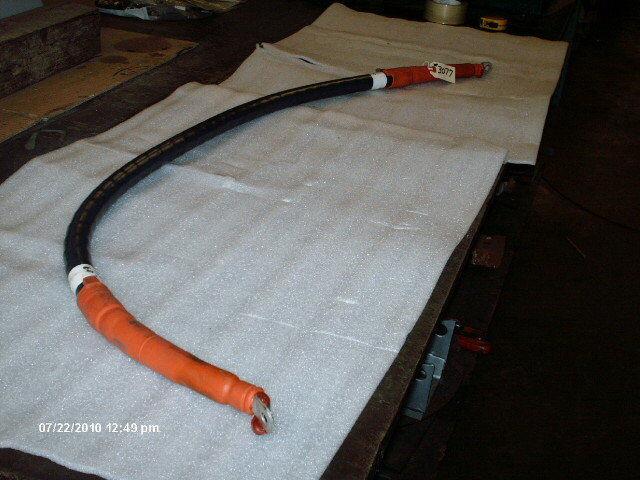 "South Wire 4/0 AWG 1/C CU MV-105 15KV W/Ends 60"""