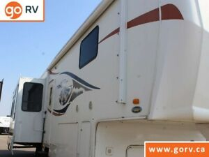 $131 b/w OAC. Used Fifth Wheel RV, sleeps 4, couples unit!