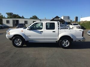 2006 Nissan Navara D22 ST-R (4x4) White 5 Speed Manual Dual Cab Pick-up Southport Gold Coast City Preview