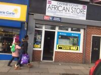 West Derby Road L13 8AE - Large A1 Retail Shop with Rear Room, Small Kitchen, Toilet and Small Yard