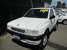 1998 Holden Frontera (4x4) White 5 Speed Manual 4x4 Wagon Invermay Launceston Area Preview