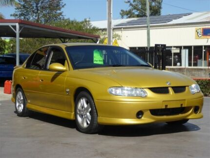 2002 Holden Commodore VX II S Yellow 4 Speed Automatic Sedan Brendale Pine Rivers Area Preview