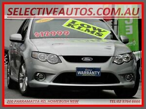 2009 Ford Falcon FG XR6 Silver 6 Speed Auto Seq Sportshift Sedan Homebush Strathfield Area Preview
