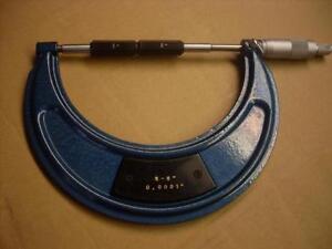 Micromètre extérieur (outil de machiniste) 5 à 6 pouce