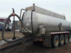 2014 Brenner Tri/A Stainless Pup Tanker
