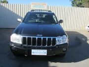 2007 Jeep Grand Cherokee WH Limited (4x4) Black 5 Speed Automatic Wagon Hillcrest Port Adelaide Area Preview