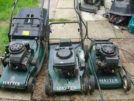 x3 hayter lawn mowers spairs repair x2 48 x1 smaller hater £100