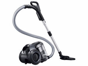 Samsung Bagless Canister Vacuum - Silver