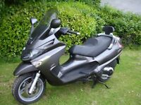 piaggio xevo 400 winter bargain, poss px or swop for old classic bike kit car. BEST OFFER.