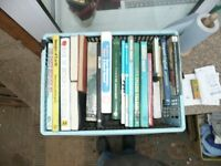 Box of books ideal for home book case or car boot sale.