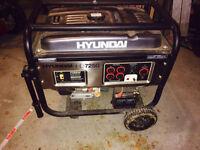 Hyundai HHD7250: 7250 Watt Gas Powered Portable Generator