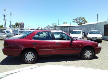 1996 Holden Apollo JP GS Red 4 Speed Automatic Sedan Hillcrest Port Adelaide Area Preview