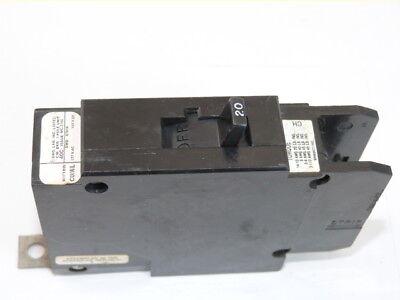 New Cutler Hammer QC1020 1p 20a 120//240v Circuit Breaker 1-Year Warranty