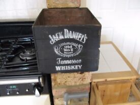 Jack Daniels crate