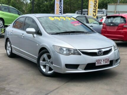 2009 Honda Civic 8th Gen MY09 VTi Silver 5 Speed Manual Sedan Caloundra West Caloundra Area Preview