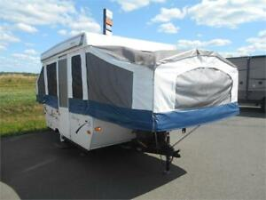 Wow!! Palomino 10 Tent Trailer, Queen/Double Bunks. $4999 AS IS!