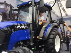 Brand New 82 HP Tractor with cab A/C 4WD