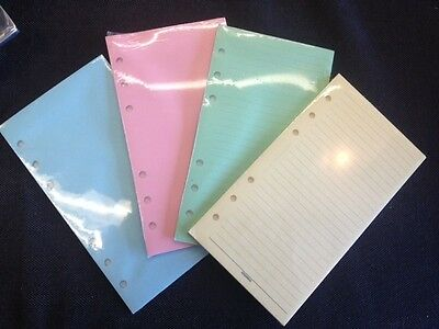 Filofax Compatible Personal Size Pink Inserts New And Sealed
