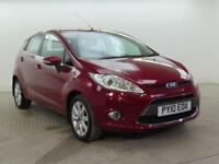 2010 Ford Fiesta ZETEC 16V Petrol red Automatic