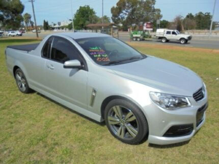 2013 Holden Ute VF SV6 Silver 6 Speed Automatic Utility
