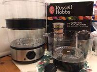 Russell Hobbs Tier Food Steamer - Missing 1no ring (see description) - £5