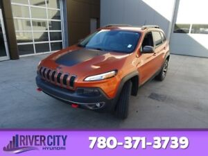 2015 Jeep Cherokee AWD TRAILHAWK Navigation (GPS),  Leather,  He