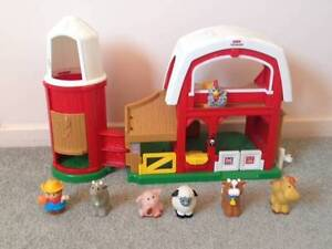 Fisher price Little People Animal Sounds Farm Mawson Lakes Salisbury Area Preview