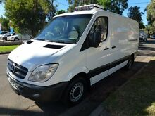 2007 Mercedes-Benz Sprinter 309 CDI MWB Refrigerated Fridge White 6 Speed Manual Van Homebush West Strathfield Area Preview