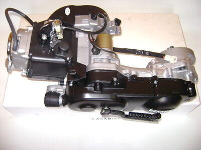 Motor komplett 10 Zoll QMB 50ccm 4Takt 139QMB ZNEN Roller Motroroller Retro