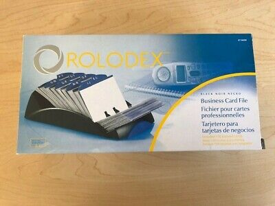 Super Discounted Rolodex Business Card File.