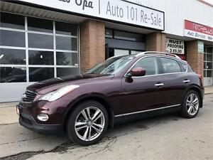 2011 INFINITI EX35 Navigation Package Only $16900