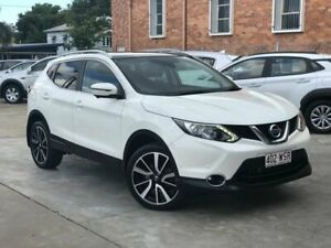 2016 Nissan Qashqai J11 TI Pearl White 1 Speed Constant Variable Wagon Chermside Brisbane North East Preview