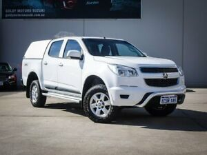 2014 Holden Colorado RG MY15 LS Crew Cab White 6 Speed Sports Automatic Utility Midvale Mundaring Area Preview