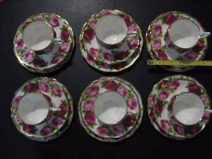 Royal Albert Old English Rose tea coffee set Adamstown Heights Newcastle Area Preview