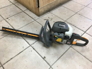 RYOBI GAS HEDGE TRIMMER LIKE NEW HT26 We also have hedge trimme