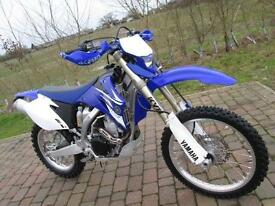 YAMAHA WR 450 F WRF 2008 ENDURO GREEN LANE ELECTRIC START ROAD LEGAL